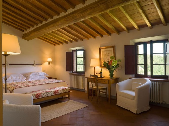 Panormaic views from every bedroom at Hotel le Fontanelle, classic