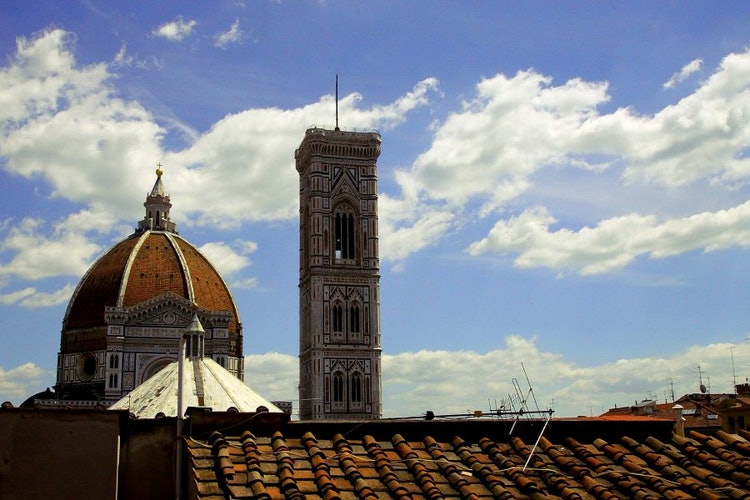 Breath taking views from Hotel Perseo in the heart of Florence
