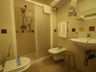 En suite bathroom with hair dryer