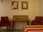 Several room options include family rooms for 4 - 5 persons