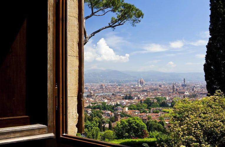Hotel Torre di Bellosguardo - Dalle camere con vista panoramica si può ammirare il profilo di Firenze