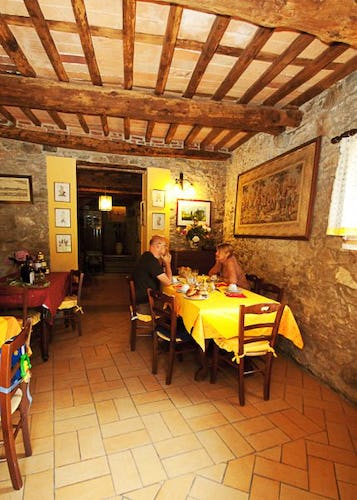 Breakfast Room Tuscany Farmhouse I Cerretelli