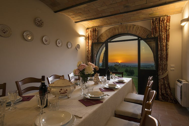 I Cipressini Villa Rental: lovely views of Tuscan