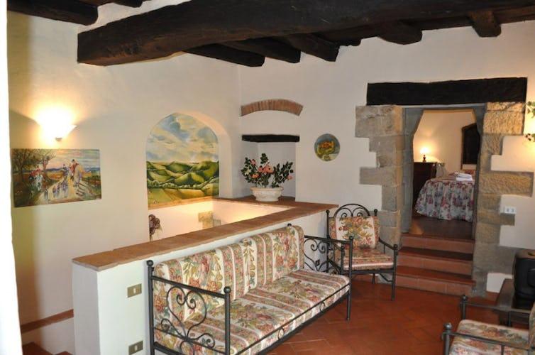 Nibbio apartment, internal view