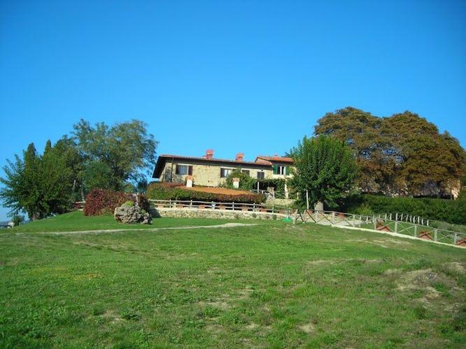 veduta esterna agriturismo Belforte in Toscana