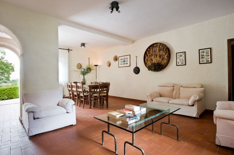 Spacious and comfortable accommodations at Agriturismo i Pianelli