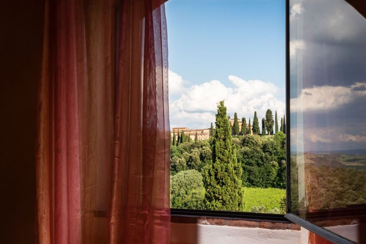 All the rooms at Il Borghetto boast fabulous views