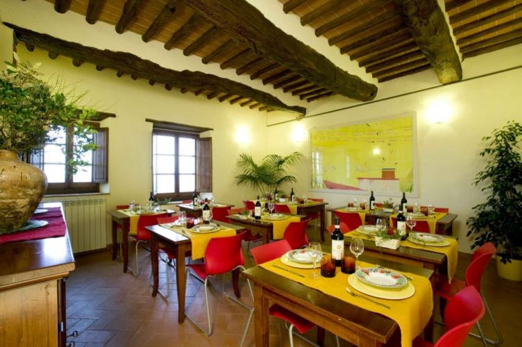 Chianti Farmhouse with Restaurant - Il Cellese