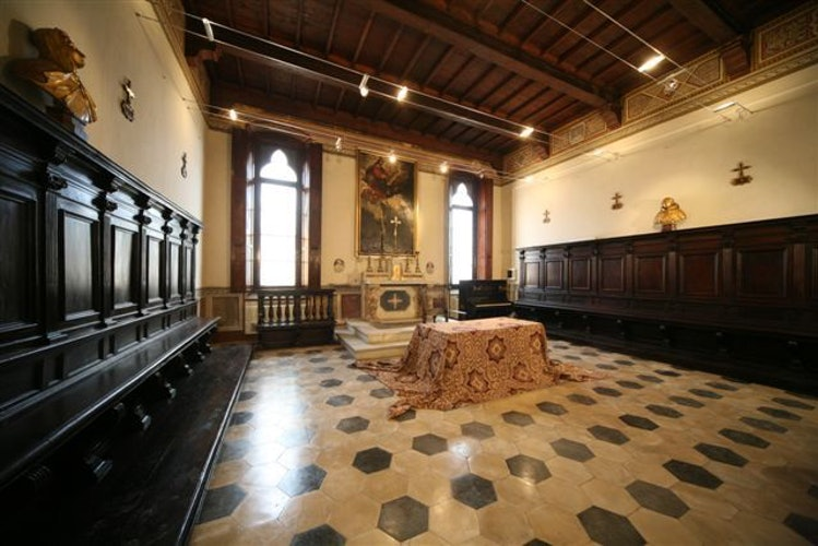 The meeting room at il Chiostro del Carmine