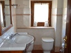 Each apartment has one private bathroom with shower