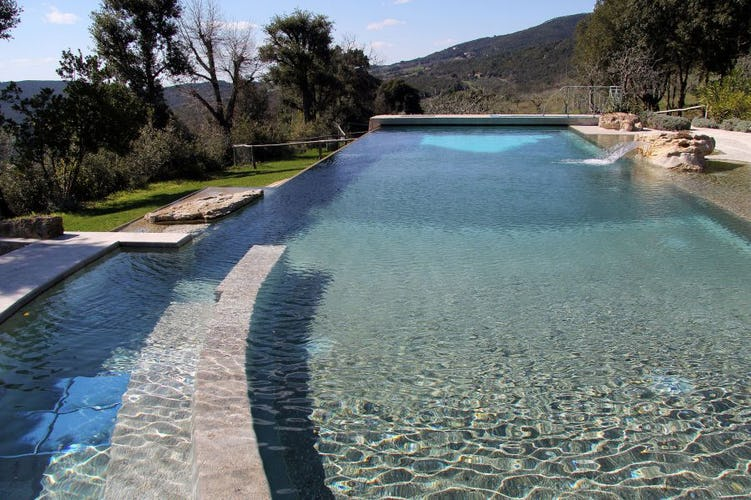 Beautiful private pool for the guests at Il Corbezzolo