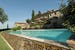 Sun and relax by the salt water pool at Il Defizio