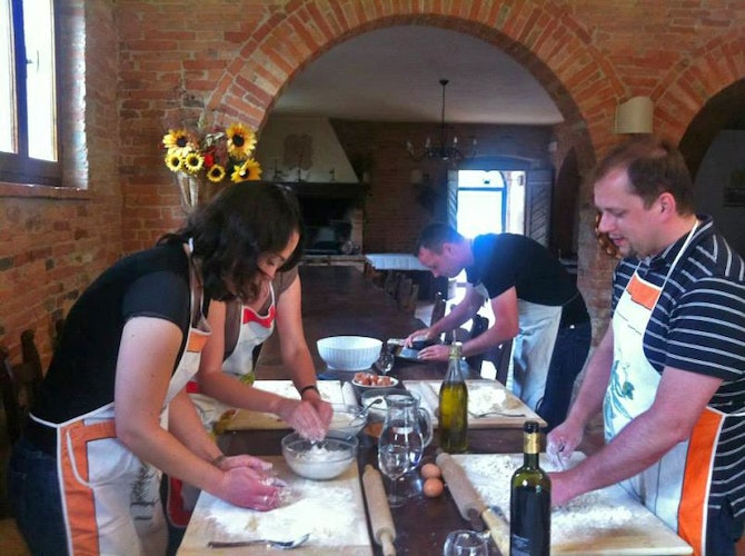 Ask about the cooking lessons & more at Il Greppo