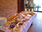 Available upon request, a filling homemade breakfast at il Greppo