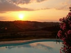 Romantic Sunset at Il Poggetto in Chianti