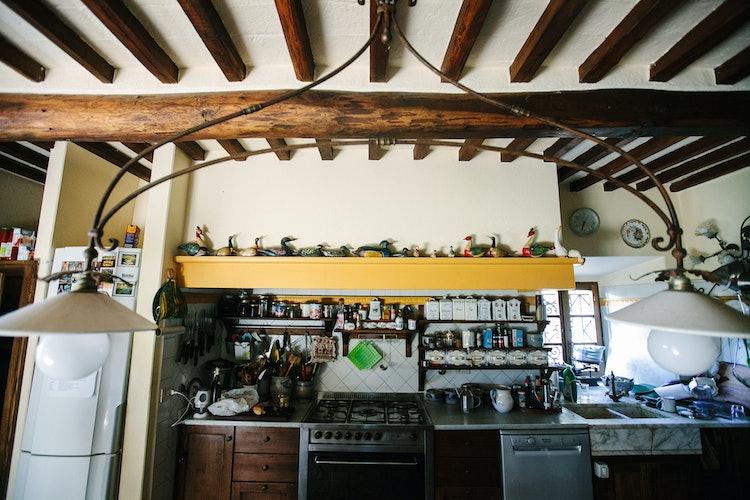 La Casa in Chianti: cucina completamente attrezzata