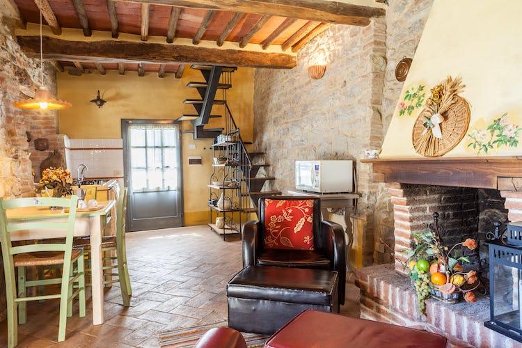 La Pieve Marsina: arredo in tipico stile rurale toscano