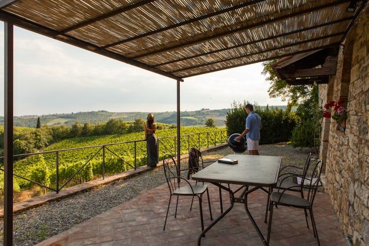 La Pieve Marsina: Garden area for picnics and BBQ meals