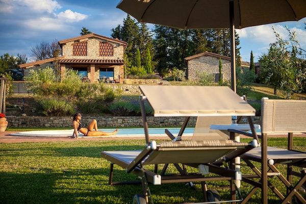 La Pieve Marsina: appartamenti per vacanze vicino a Gaiole in Chianti