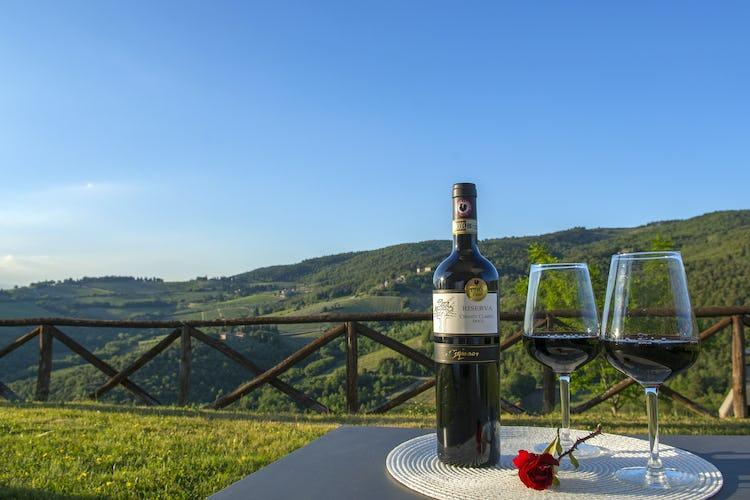 La Rocca di Cispiano: degustazione di vini nel Chianti