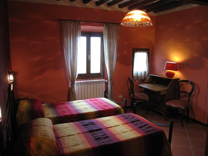 Villa La Topaia Mugello Accommodation