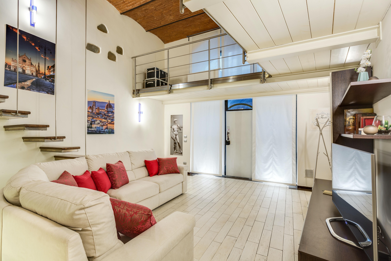Loft Le Murate Vacation Apartment: Flat Screen TV