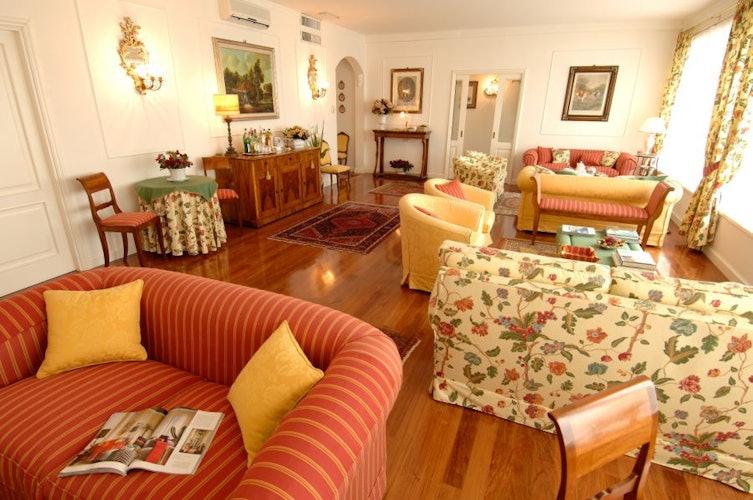 Aree comuni spaziose ed accoglienti per il relax degli ospiti