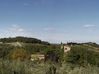 Breathtaking view from the estate on the Chianti hills