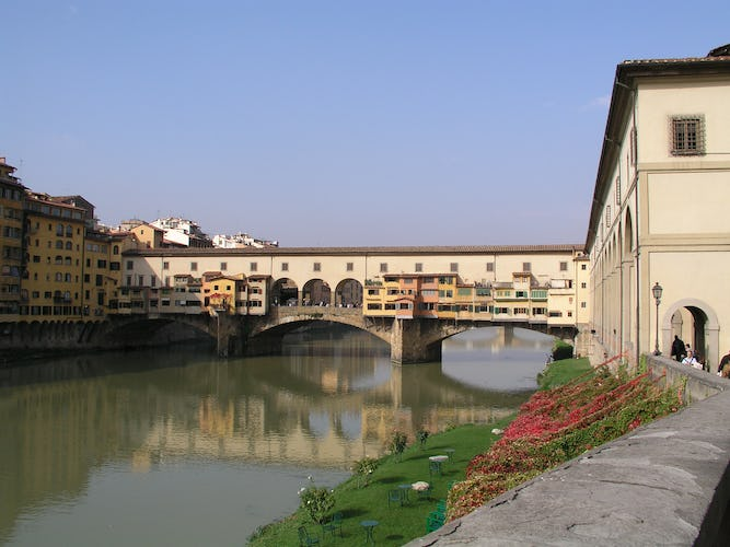 Old Bridge Apartment: panorama sulle località simbolo di Firenze