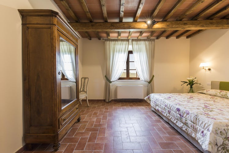 Olmofiorito Agriturismo: Bedrooms with airconditioning
