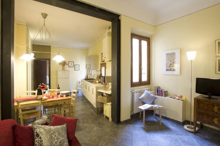 Soggiorno Appartamento Oltrarno Firenze