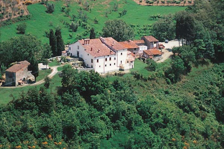 Orticaia Farmhouse near Florence Tuscany Mugello