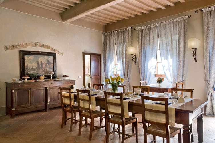 Bed and Breakfast Accommodation in Chianti Tuscany