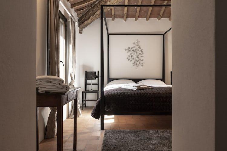 La camera con letto a baldacchino di Stella, prestigiosa ed esclusiva
