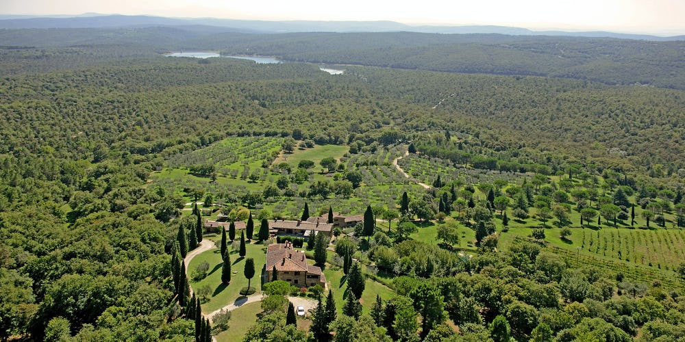 Agriturismo Podere Argena: Stupendous View of Tuscany