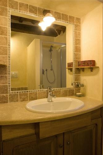 Agriturismo Podere Argena: Modern Bathrooms