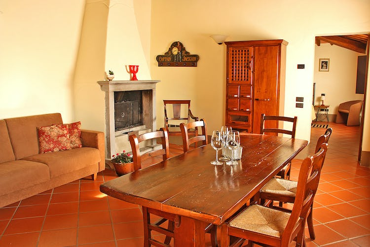 Podere Casarotta: Furnished in a typical Tuscan style