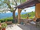 Podere Casarotta: la terrazza panoramica