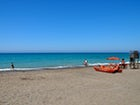 Le spiagge sono facilmente raggiungibili lungo il sentiero ciclabile