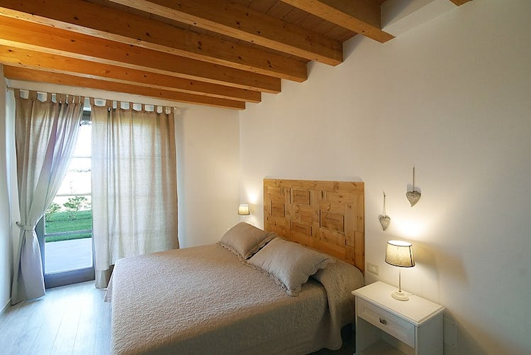 Ask about the king size beds for extra comfort at Podere Conte Novello