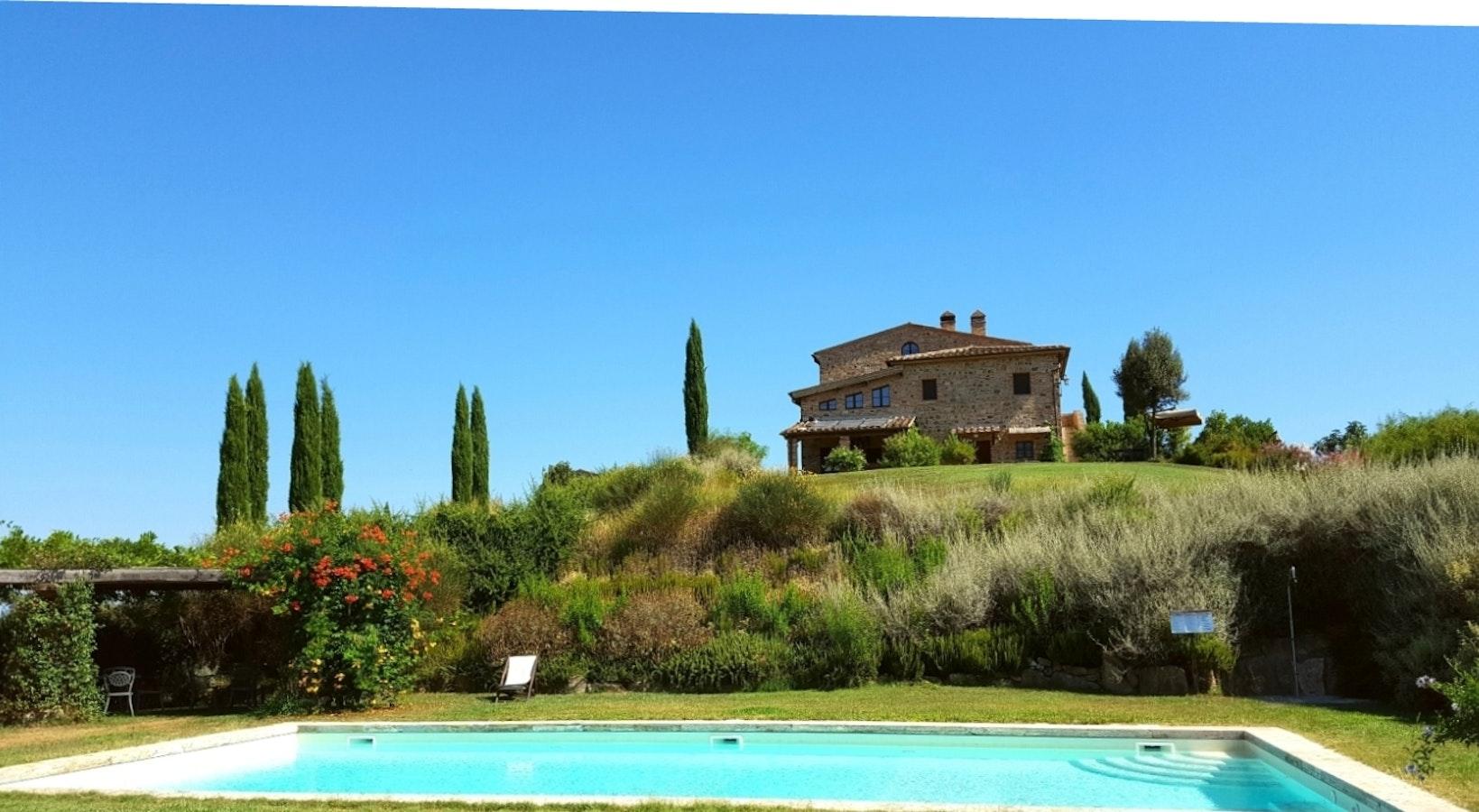 Podere cunina agriturismo buonconvento vicino siena - Agriturismo siena con piscina ...