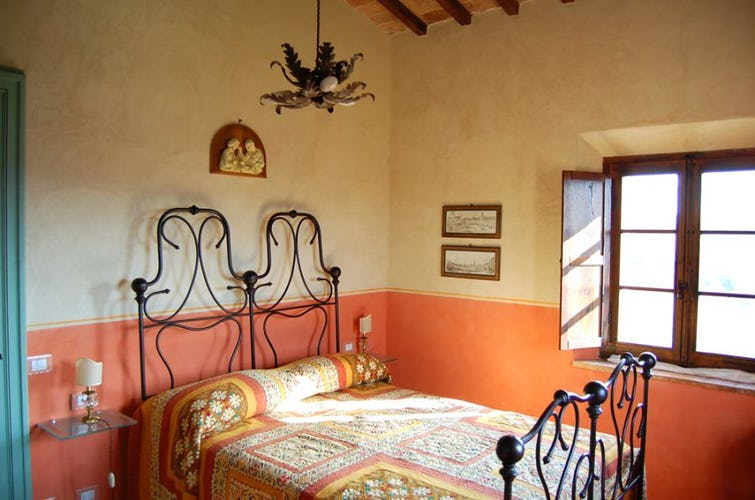 Typical tuscan furnishing