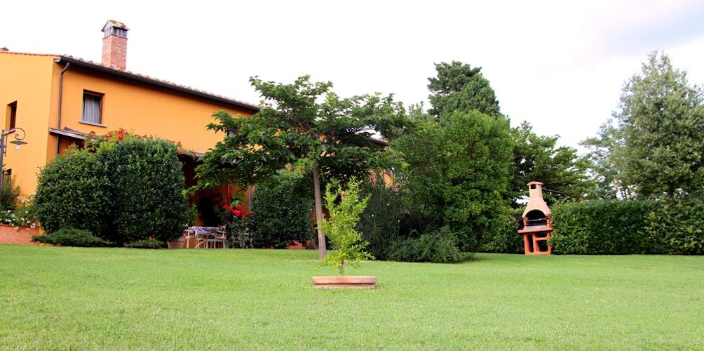 Il bellissimo giardino della casa vacanze