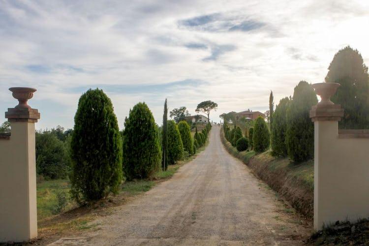 Entrance  Poggio Gabbiano Cortona