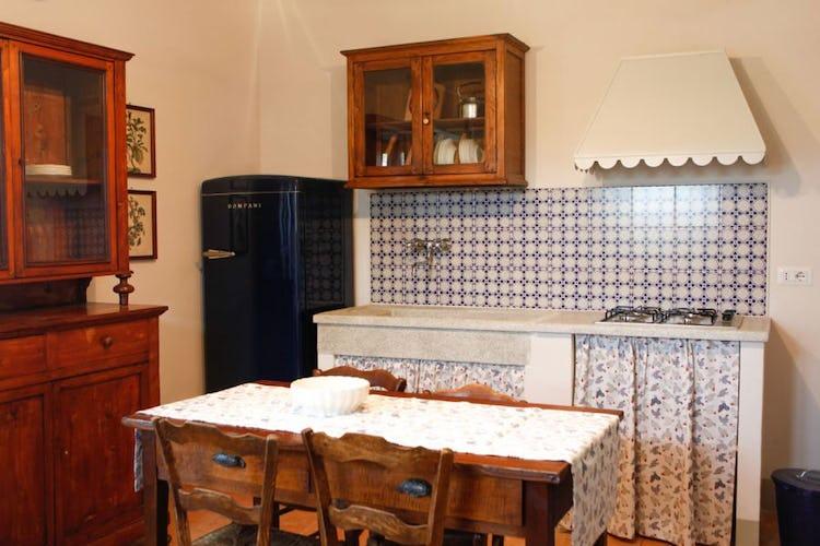 Kitchen Agriturismo Poggio Gabbiano Cortona