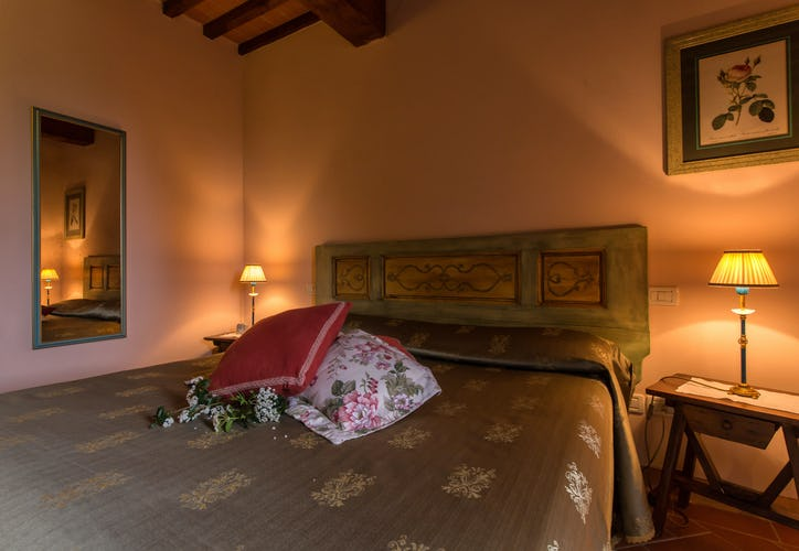 Residence Il Gavillaccio - ample double bedrooms for group events or weddings