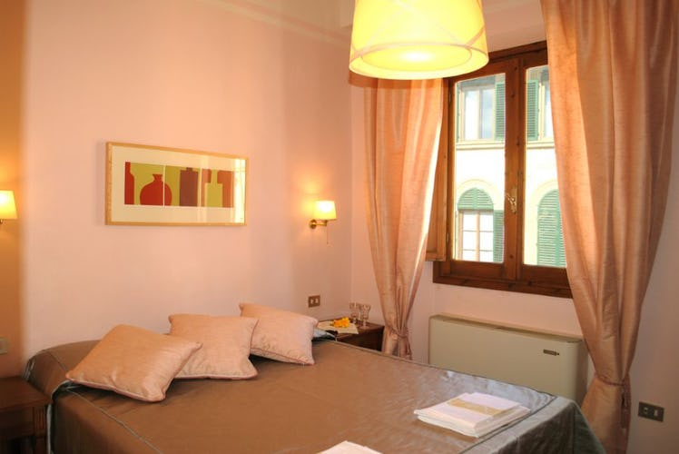 Ogni appartamento offre vedute spettacolari sulla città di Firenze