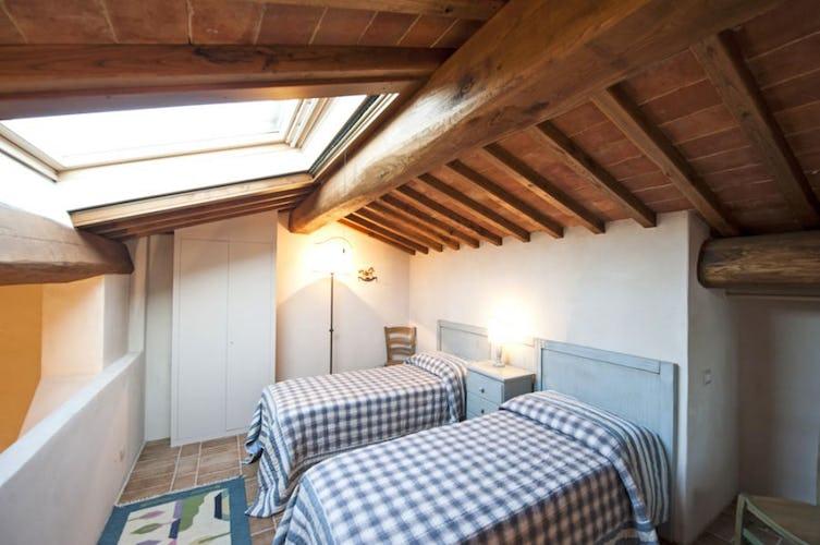 Camera con i letti separati