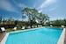 La piscina del Residence, immersa nell'antico oliveto