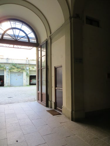 Serena DesignApartmentFlorence - cortile interno